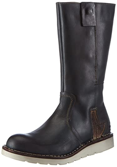 camel active Womens Route 71 Boots Green Grün (petroltaupe