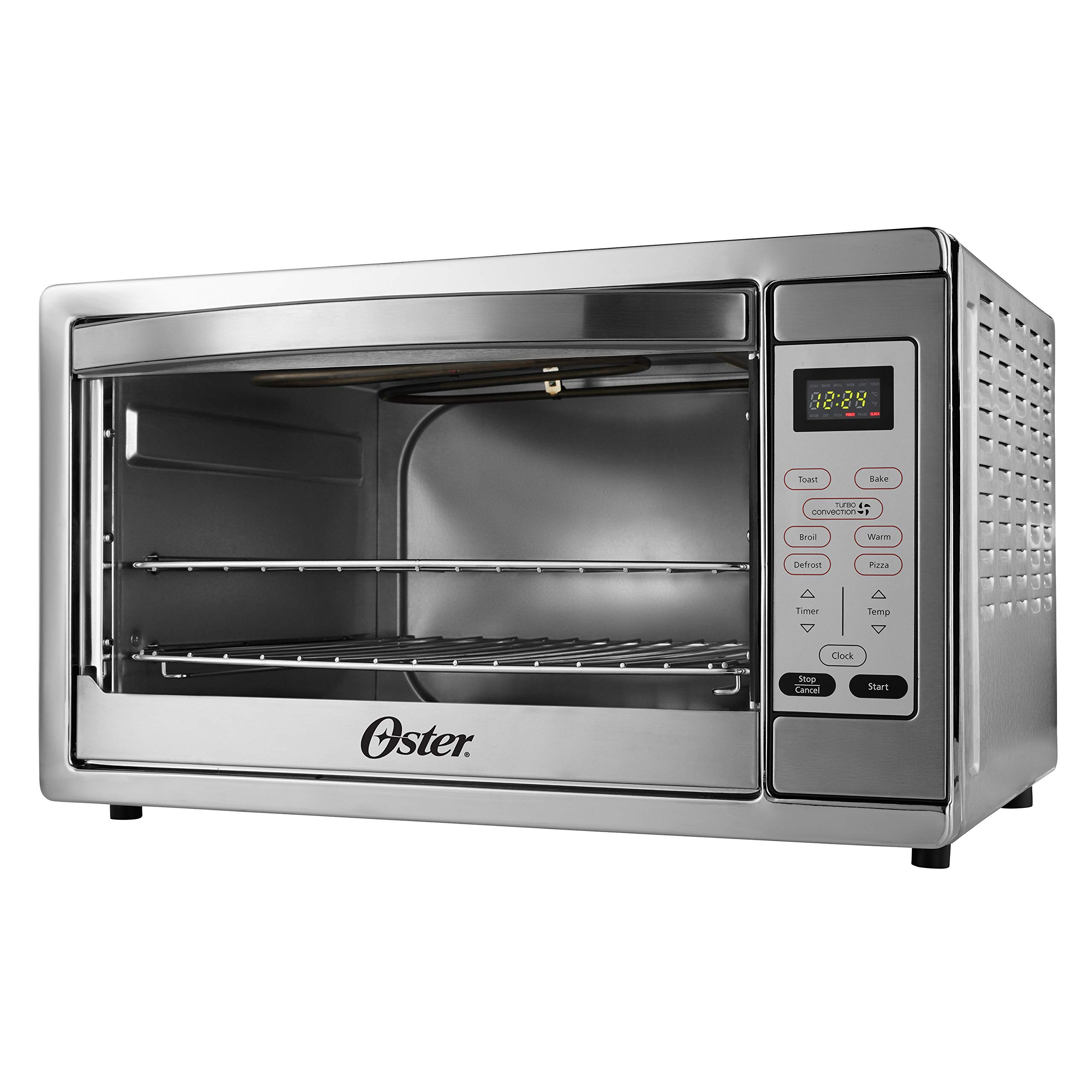 Oster Extra Large Digital Countertop Convection Oven, Stainless Steel (TSSTTVDGXL-SHP) by Oster