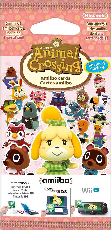 Pack de 3 Tarjetas amiibo Animal Crossing