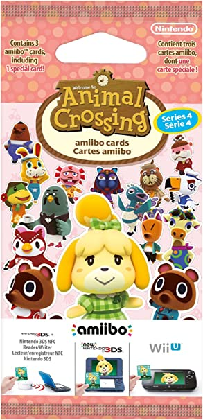 Nintendo - Pack 3 Tarjetas amiibo Animal Crossing HHD - SERIE 4: Amazon.es: Amazon.es