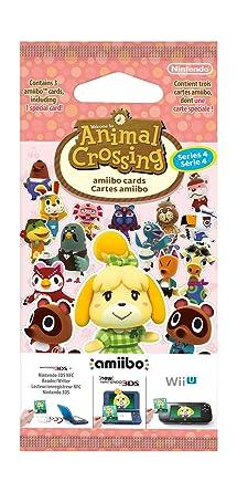 Nintendo - Pack 3 Tarjetas amiibo Animal Crossing HHD - SERIE 4 ...