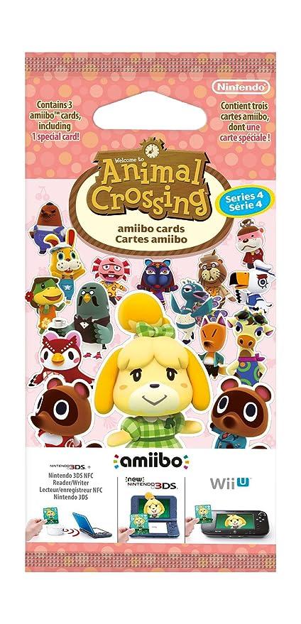 150 opinioni per Nintendo Carte Amiibo Animal Crossing, Serie 4- Limited- Nintendo 3DS
