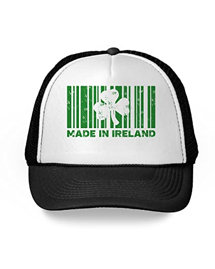 c3aea4b33709d Awkward Styles Made in Ireland Trucker Hat Saint Paddy Gifts for Him and Her  Black One
