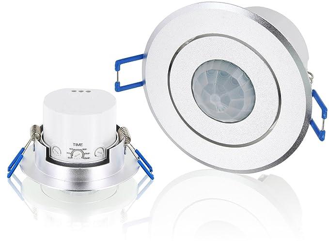 1 opinioni per Sensore di movimento da incasso, a IR, orientabile a 360°–Involucro