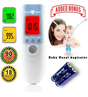 No Touch Temporal | termometro Digital Baby | Thermometer for Fever- The Best Instant Read