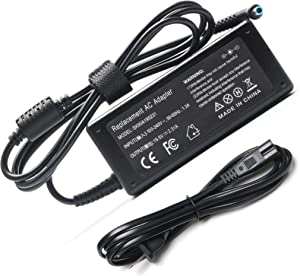 45W Replacement AC Adapter Charger for HP 15 15-f233wm 15-f272wm 15-f010wm 15-f305dx 15-af131dx Spectre X360 13-a010dx 13-4003dx 13-4103dx Pavilion 15 Laptop Notebook PC Power Supply Cord