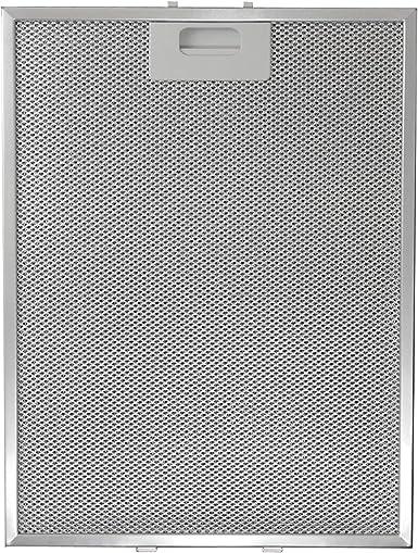 ELICA - Filtro de aluminio para campana extractora (289 x 380 x 9 mm): Amazon.es: Grandes electrodomésticos