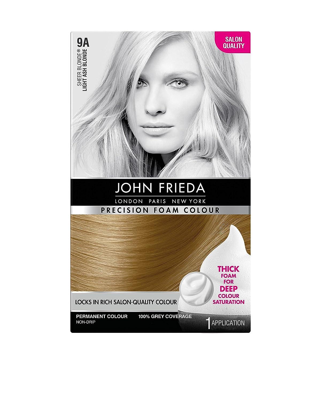 John Frieda Precision Foam Colour Hair Dye Number 9a Light Ash