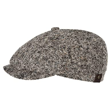 5e82106e8bc Stetson Hatteras Donegal Tweed Cap tweed caps  Amazon.co.uk  Clothing
