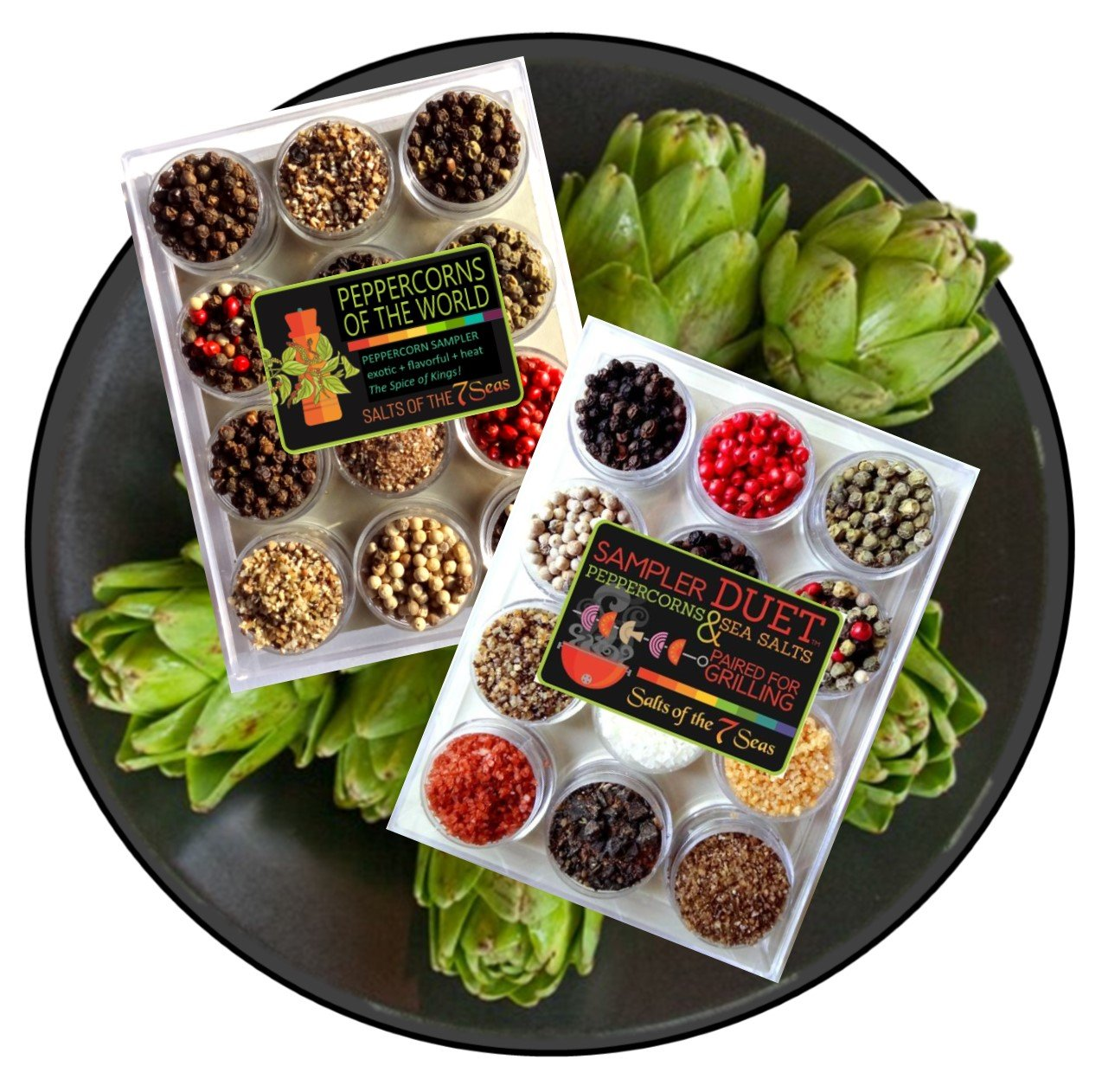 Peppercorns of the World Sampler by Salts of the 7 Seas (Image #2)