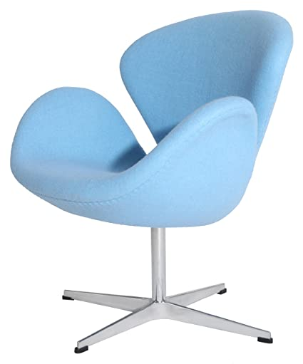 MLF 100% Reproduction Of Arne Jacobsen Swan Chair (8 Colors). Premium  Cashmere