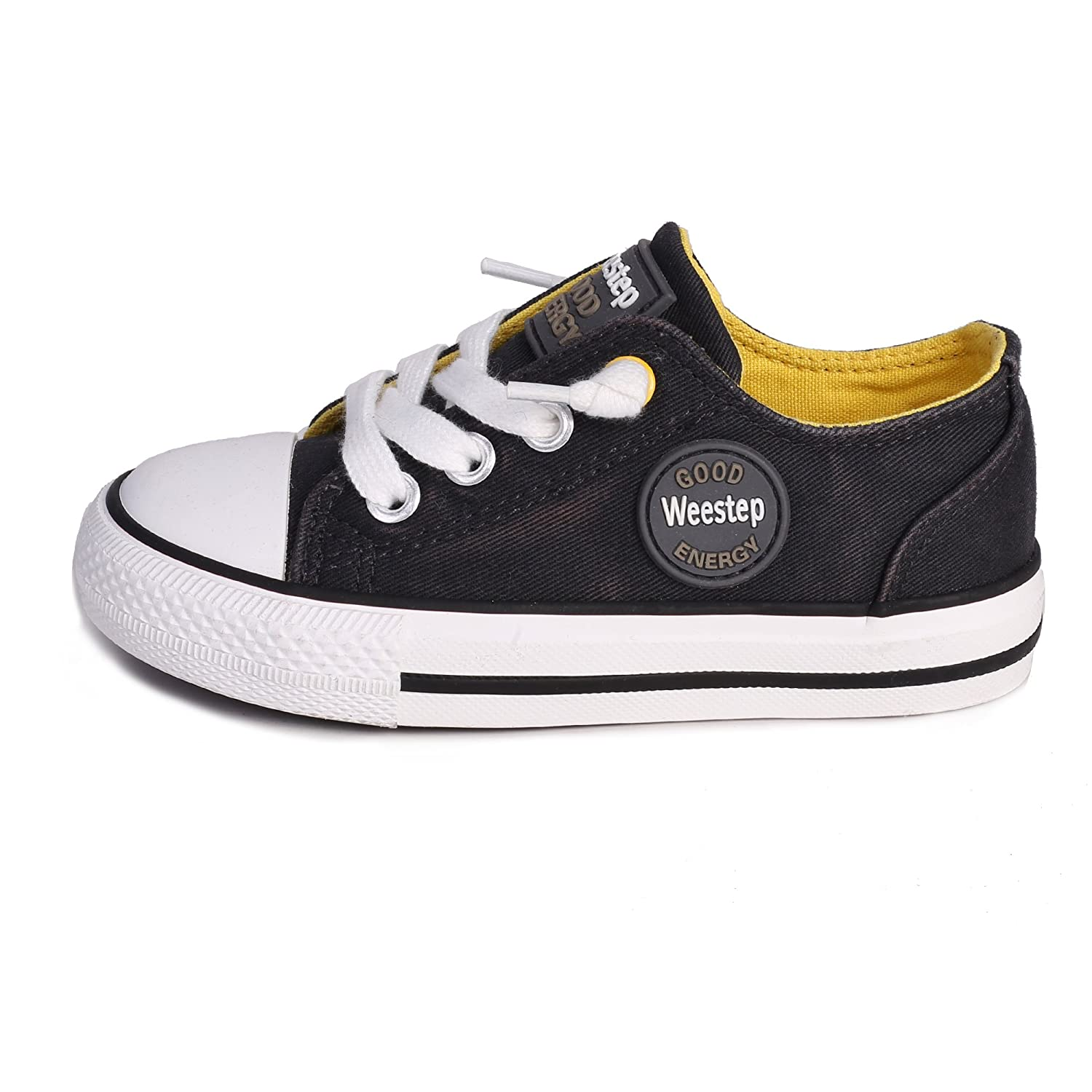 Weestep Toddler//Little Kid Boys and Girls Slip On Canvas Sneakers