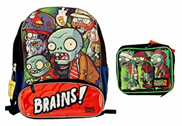 42f4cdda6301 Plants vs Zombies 2 Backpack with Matching Lunch: Amazon.ca: Office ...