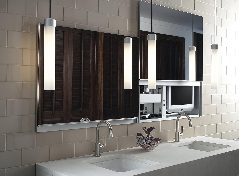 Bon Amazon.com: Robern CB UC4827FPE Uplift Flat Plain Mirror Medicine Cabinet:  Home Improvement