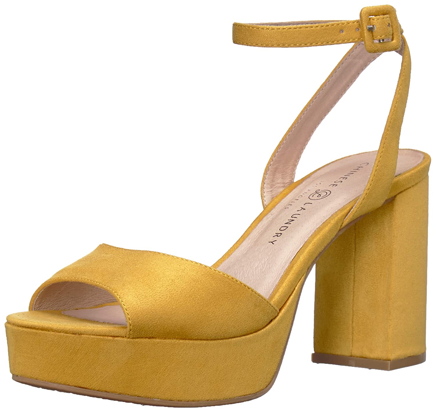 70s Shoes, Platforms, Boots, Heels | 1970s Shoes Chinese Laundry Womens Theresa Heeled Sandal $79.95 AT vintagedancer.com