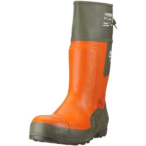 Watex 8-2100 Forest Jack EN345 SB E - Botas para trabajos forestales (grado