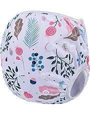 Storeofbaby Pantalons de natation réutilisables de couches de bébé pour le nouveau-né 0-36 mois