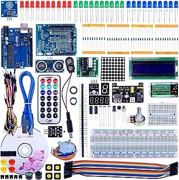 Quimat Kit Compatible con R3 Mega2560 para Principiantes: Amazon ...