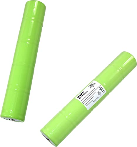 HQRP 2-Pack Battery for Streamlight SL20 20170 26010 9926J TS522 SL20S 26060 26000 77175 Replacement Plus HQRP Coaster 26120
