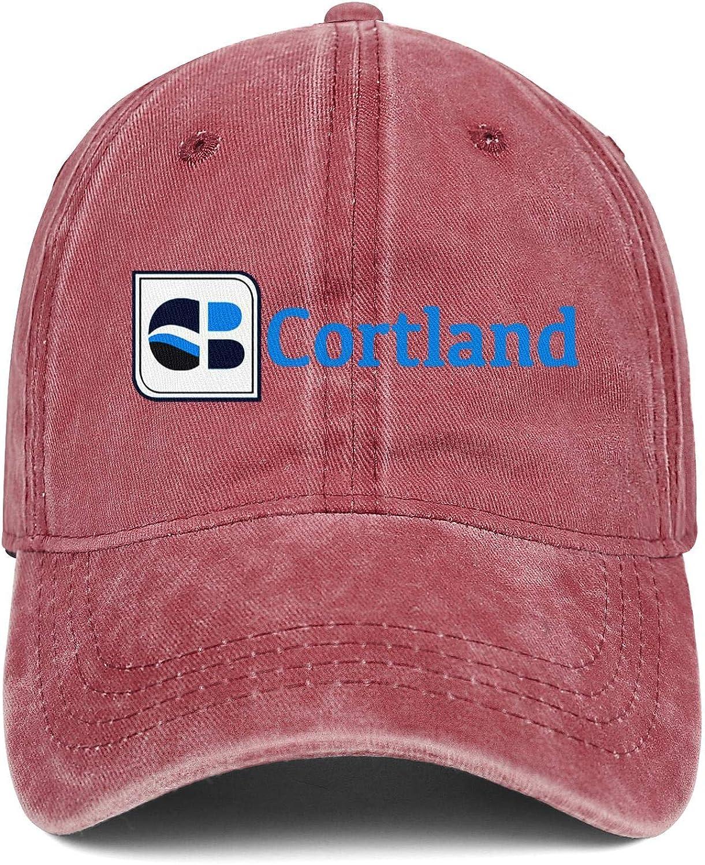 Mens Womens Hat Cortland Bancorp Logo Snapback Hats Ball Cowboy Cap Novelty Caps