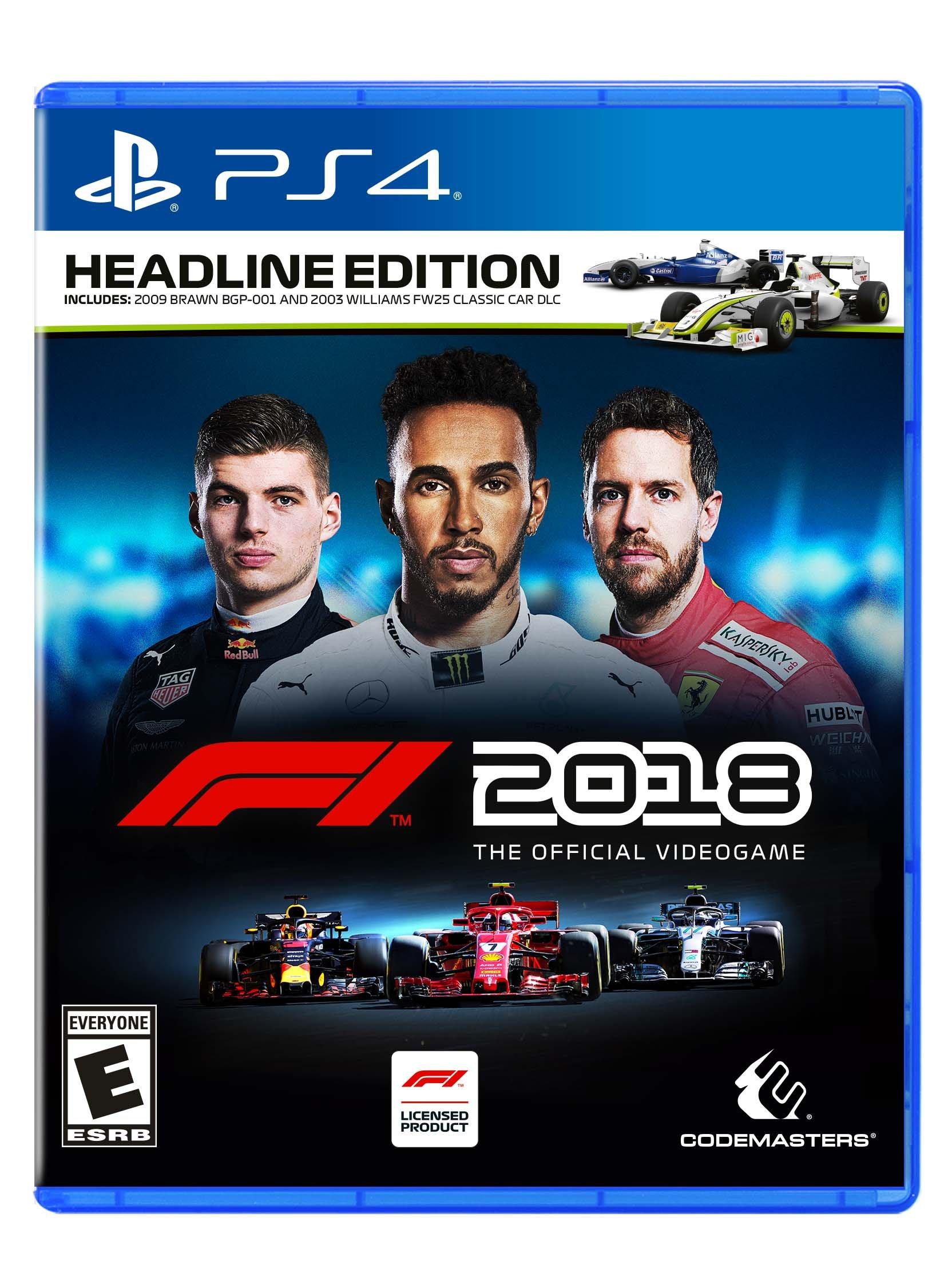 F1 2018 Headline Edition – PlayStation 4