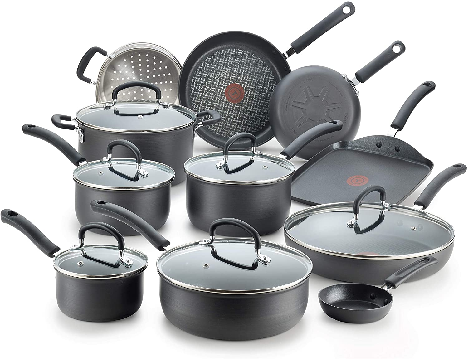 T-fal Ultimate 17 Piece Cookware Set