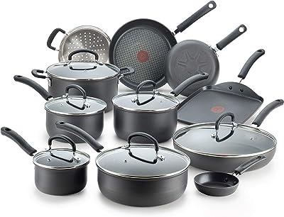 T-fal E765SH Cookware Set