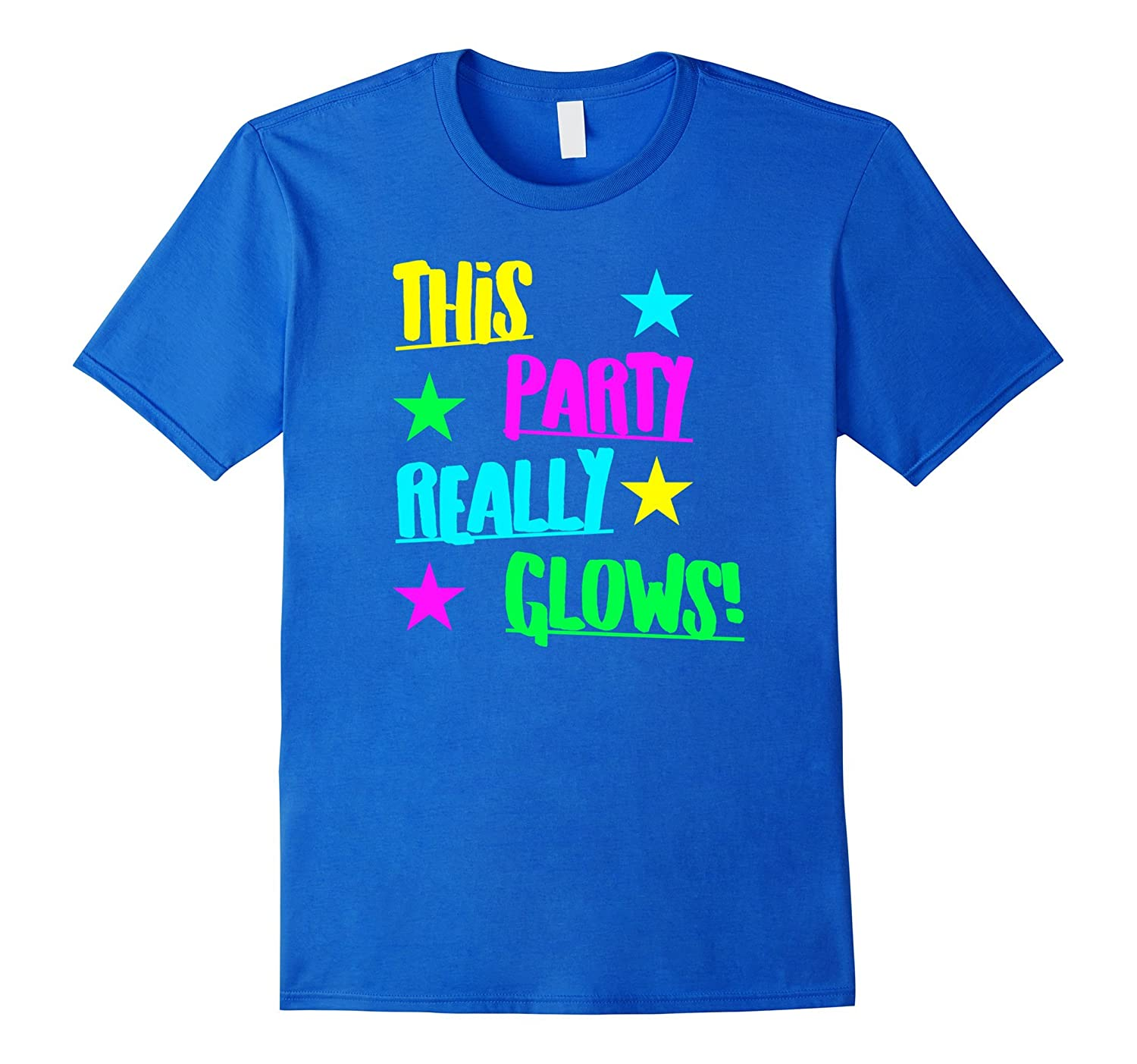 This Glow Party Really Glows Kids Birthday Gift T Shirt ANZ