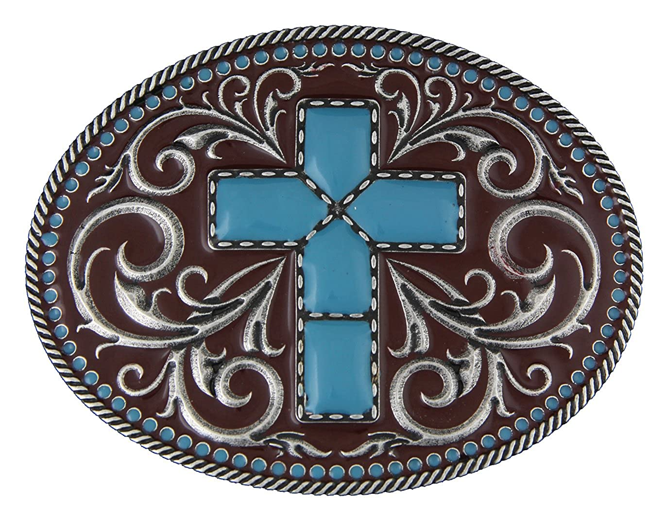Montana Silversmiths Gothic Southwest Stitched Cross A269