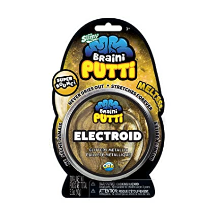 amazon com orbslimy braini putti electroid gold shimmer toy kids