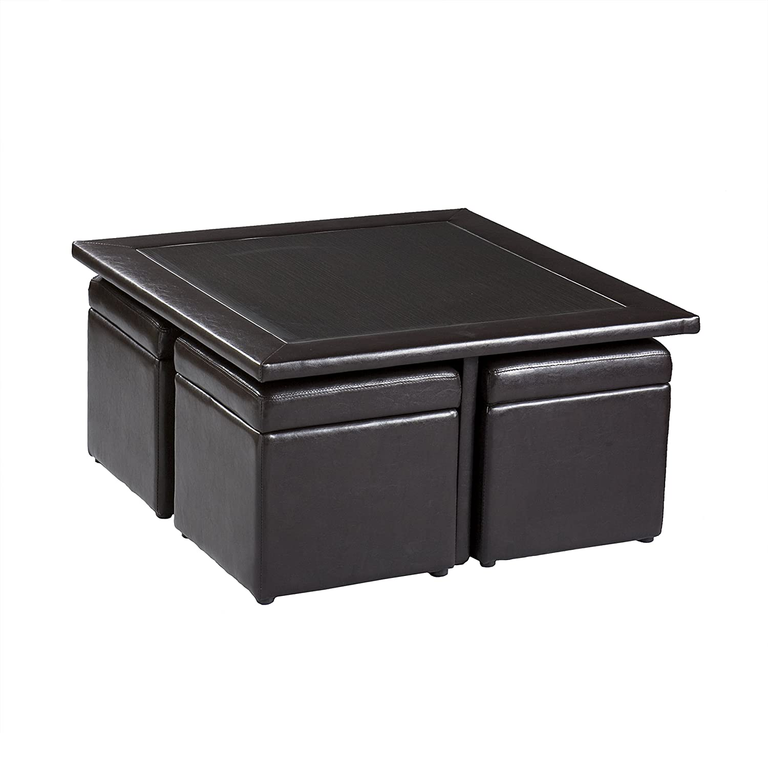 Amazon Southern Enterprises Nylo Storage Cube Table and