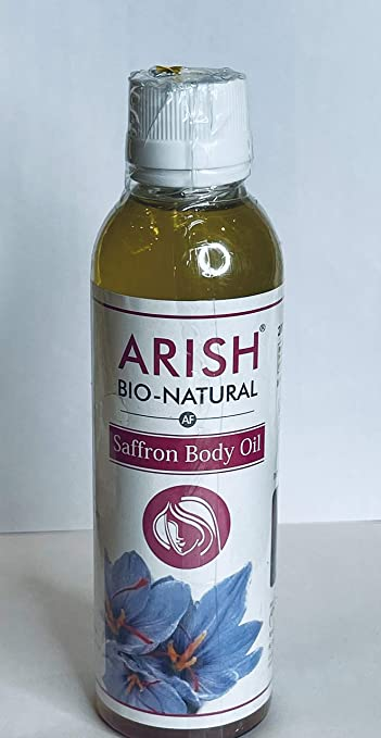 Buy Arish Bio Natural Saffron Body Oil Big Online At Low Prices In India Amazon In
