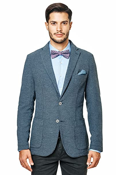 Mod Amazon 205381 Abbigliamento Giacca it Blu Sirmoney 5FqIgAwOn