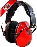 Edz Kidz Ear Defenders (Fire Red Gloss)