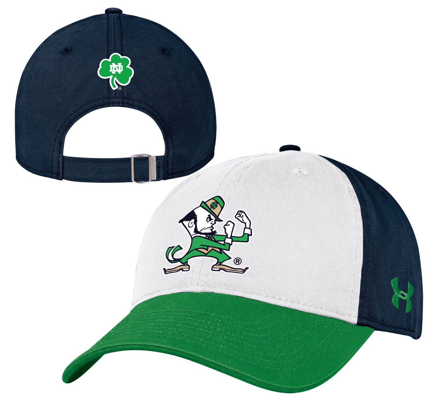 super popular size 40 stable quality Notre Dame Fighting Irish Under Armour NCAA Adjustable Slouch ...