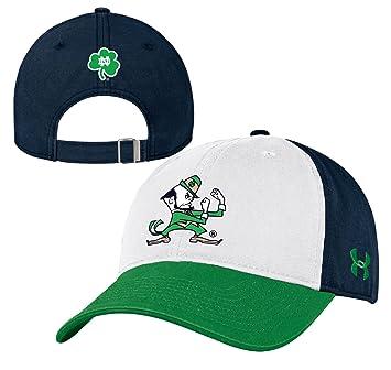 on sale 1e822 d94d8 Notre Dame Fighting Irish Under Armour NCAA Adjustable Slouch Leprechaun Hat   Amazon.co.uk  Sports   Outdoors