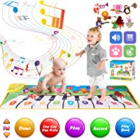 Retruth Musical Piano Mat for Kids & Toddlers, Musical Mat Keyboard Dancing Mat with 8 Instrument Modes, Touch Play Mat…