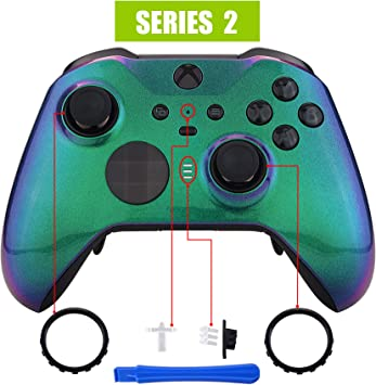 eXtremeRate Carcasa para Xbox One Elite Protectora Placa Frontal ...