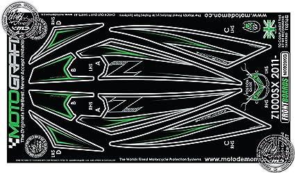 Kawasaki Z1000SX 2011 carenado frontal protección número ...