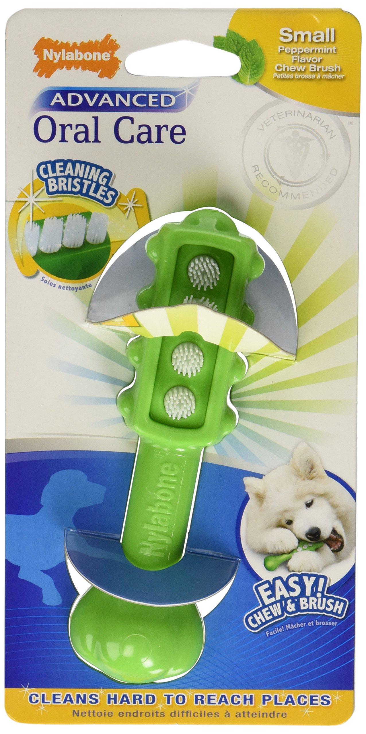 Nylabone Advanced Oral Care Dental Dog Brush, Small