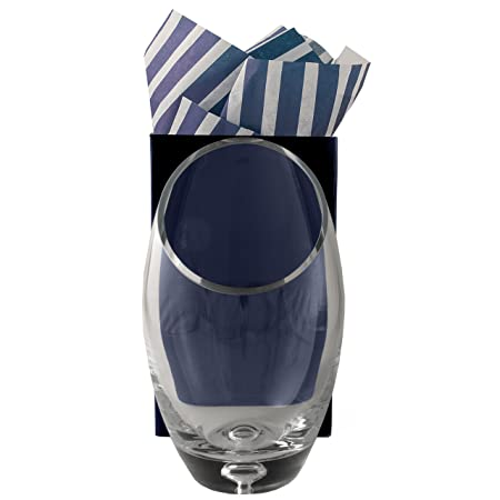 Personalised Crystal Glass Vase In Gift Box Stunning Professional