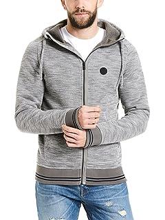 Bench Herren Bonded Hoody with Logo Print Sweatjacke