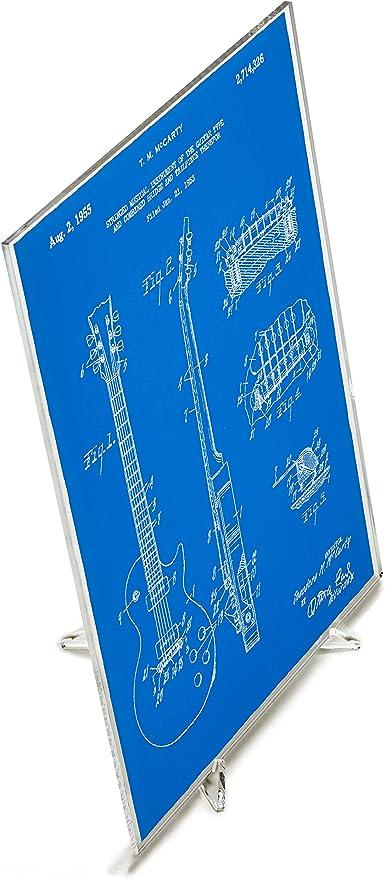 Blast! Gibson Les Paul - Guitarra (acrílico): Amazon.es: Hogar