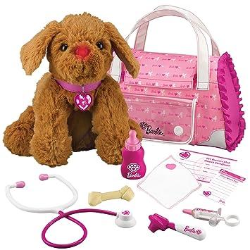 Barbie Hug N Heal Pet Doctor Puppy Brown Terrier Amazoncouk Toys