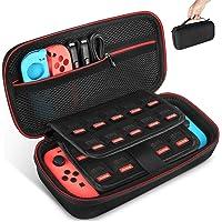 Keten tas voor Nintendo Switch, draagtas voor de Nintendo Switch console, games, Joy-Con en andere Nintendo Switch…