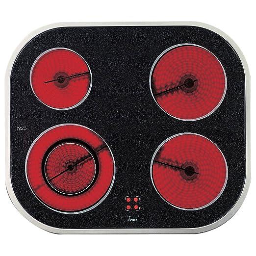 Teka VT N DC Negro Integrado Cerámico - Placa (Negro, Integrado, Cerámico, 6900 W, 230 V, 50-60 Hz)