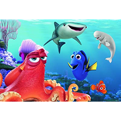 Ravensburger Finding Dory 24 Piece Giant Floor Jigsaw Puzzle for Kids – Every Piece is Unique, Pieces Fit Together Perfectly: Toys & Games