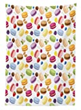 Ambesonne Colorful Tablecloth, Traditional French