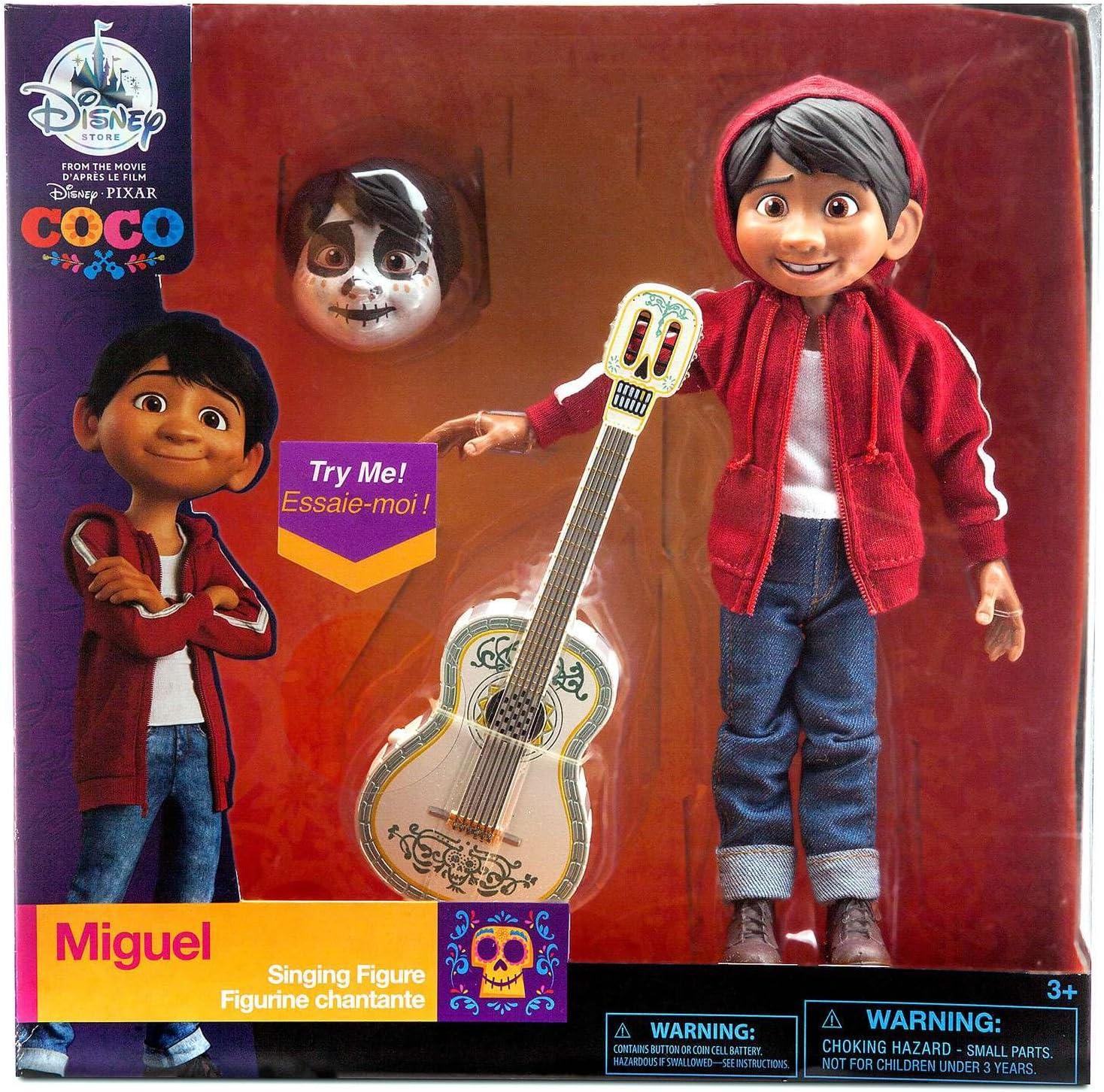 Disney Coco Cantando Miguel Figura: Amazon.es: Juguetes y juegos