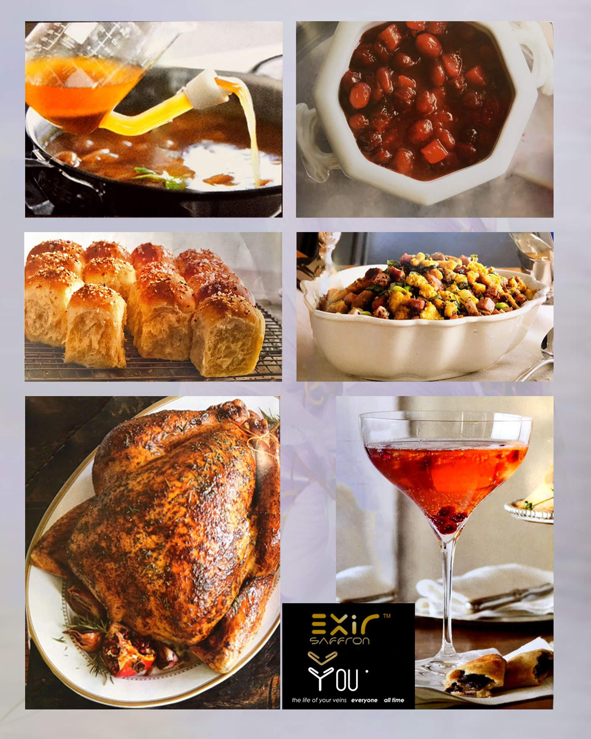 Exir Saffron Powdered (10-grams) - Sprinkle Herb and Spice Seasoning by EXIR (Image #3)